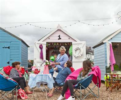 Beach Hut Hire on The Suffolk Coast