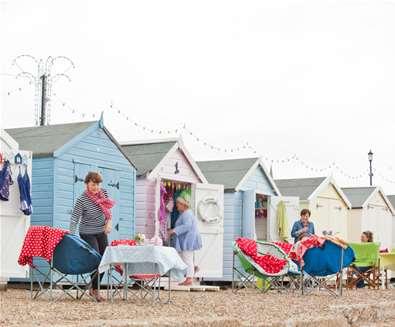 Felixstowe Beach Huts - Emily Fae Photography