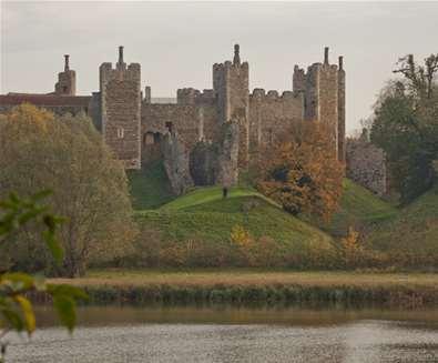 Spooky Framlingham Castle