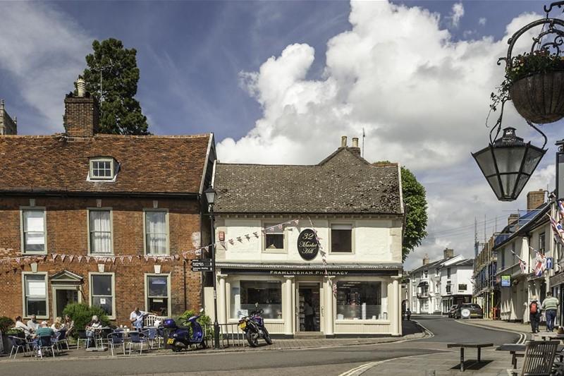 Framlingham Market Hill - Suffolk