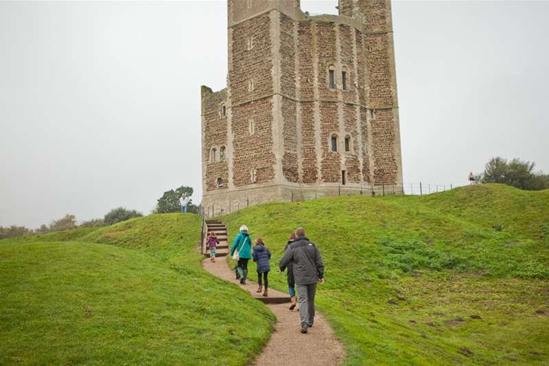 Towns & Villages - Orford - Castle