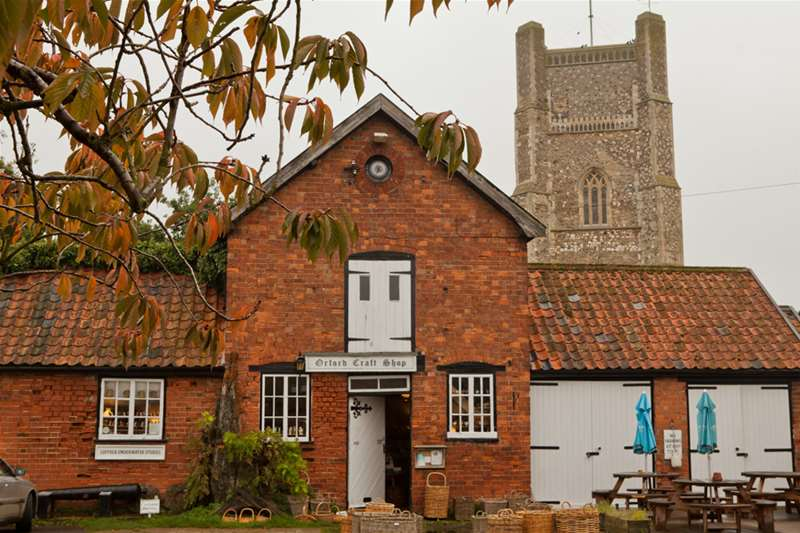 Towns & Villages - Orford - Church