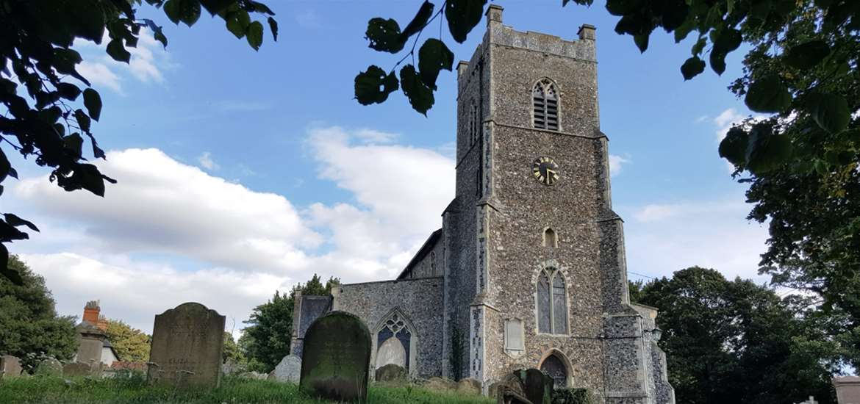 St John's Church Saxmundham Suffolk Coast
