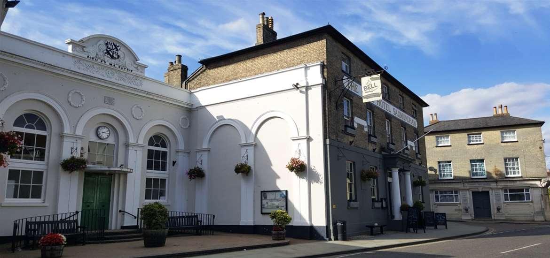 Saxmundham Town Centre Suffolk Coast