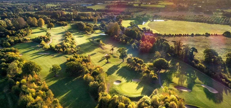 TTDA - Ufford Park - Aerial of Golf course