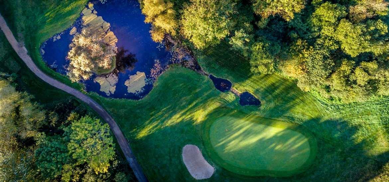 TTDA - Ufford Park Golf Club - Aerial golf course