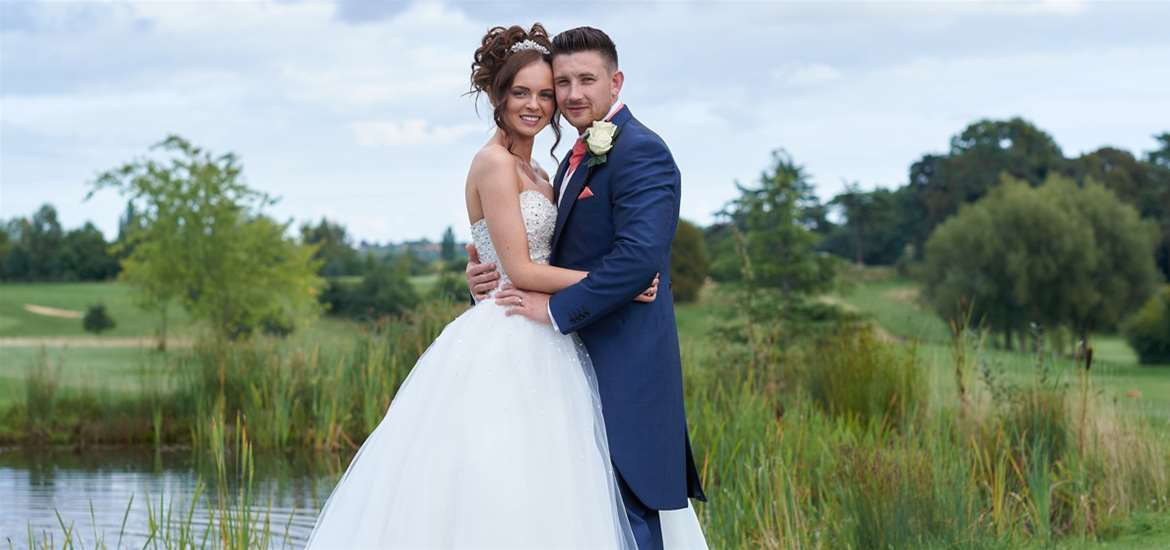 Weddings - Ufford Park - Bride & Groom