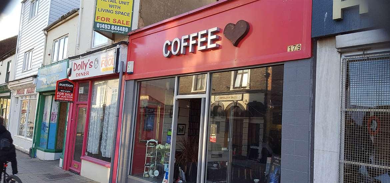 VIP - Lowestoft - Coffee Heart