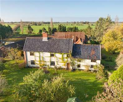 WTS - Valley Farmhouse B&B - View from sky
