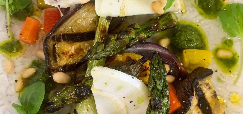FD - Vegan tasting menu at The Crown at Woodbridge