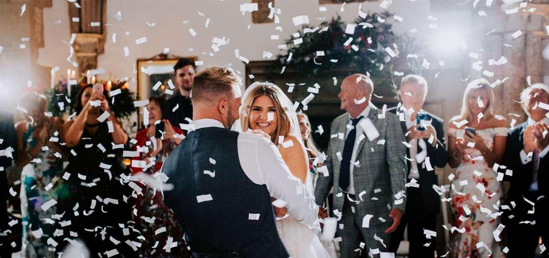 WED - Butley Priory - Bride and groom