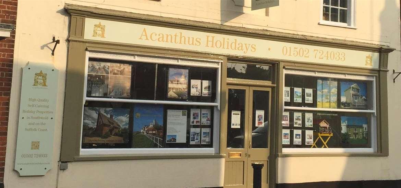 WTS - Acanthus Holidays Southwold - Shop