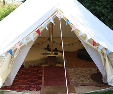 Alde Garden Bell Tent Andy Greenacre