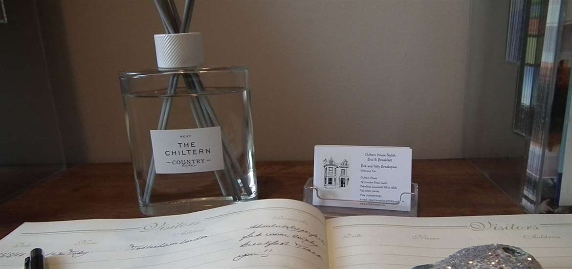 WTS - Chiltern House - Guest Book