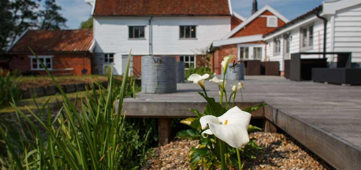 WTS - Letheringham Water Mill Cottages - Garden