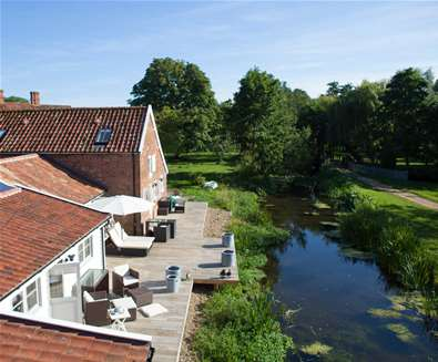 WTS - Letheringham Water Mill Cottages - River