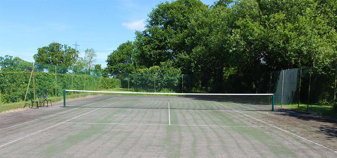 WTS - Manor Farm Knodishall - Tennis Court