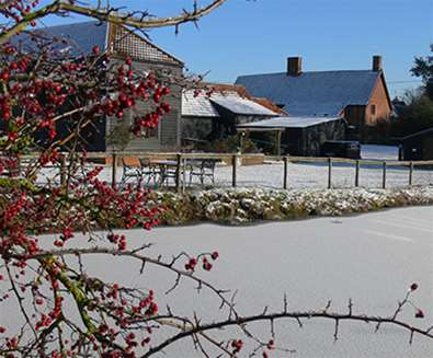 WTS - School Farm Cottages - In snow