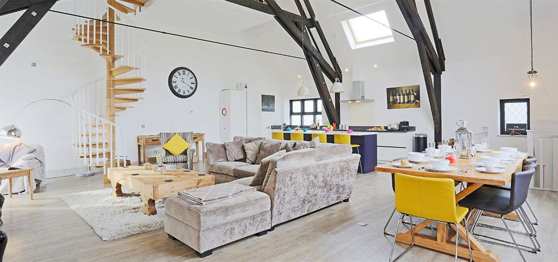 WTS - Suffolk Secrets - Open Plan Living Room - Winter offer