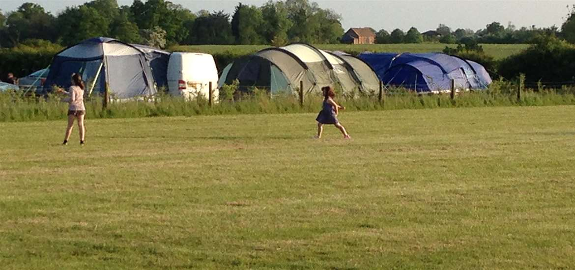 WTS - The Croft Campsite - Children playing