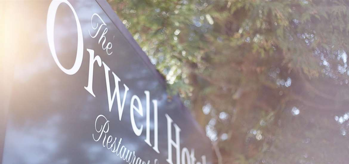 F&D - The Orwell Hotel - Sign
