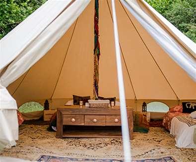 WTS - Wardle Hill Campsite - Lotus Belle Tent