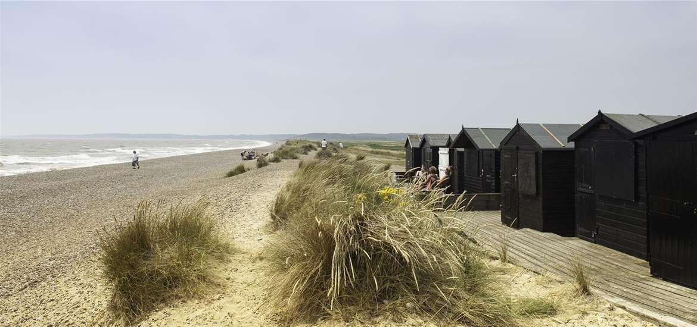 TTDA - Walberswick Beach - beach huts