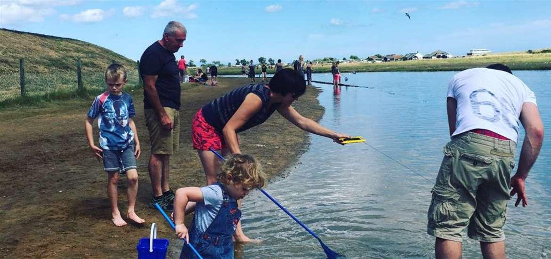 Crabbing on the Suffolk Coast