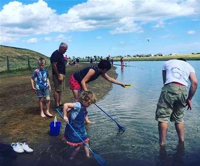 Walberswick Crabbing