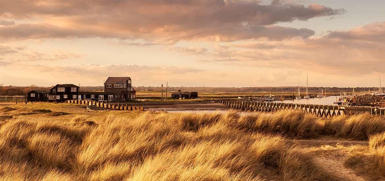 Walberswick in the autumn - Suffolk Coast