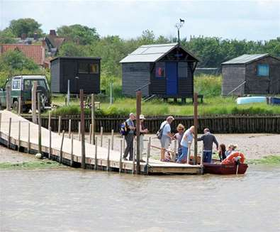Walberswick to Southwold Foot Ferry on The Suffolk Coast