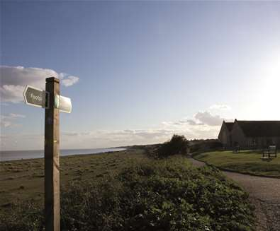 Pakefield Beach - Church
