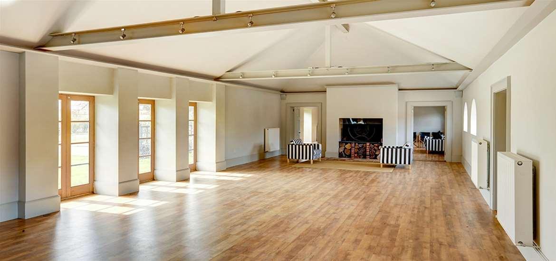 Weddings - Henstead Pavilion - Interior of barn