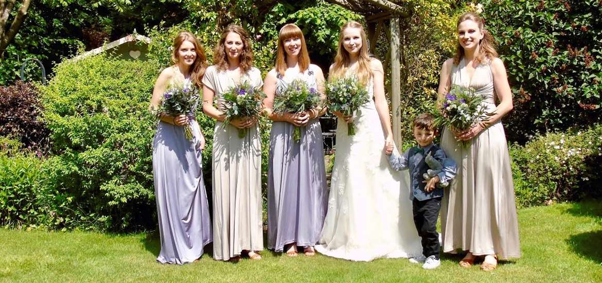 Weddings - The Old Rectory B&B - Bridal Party