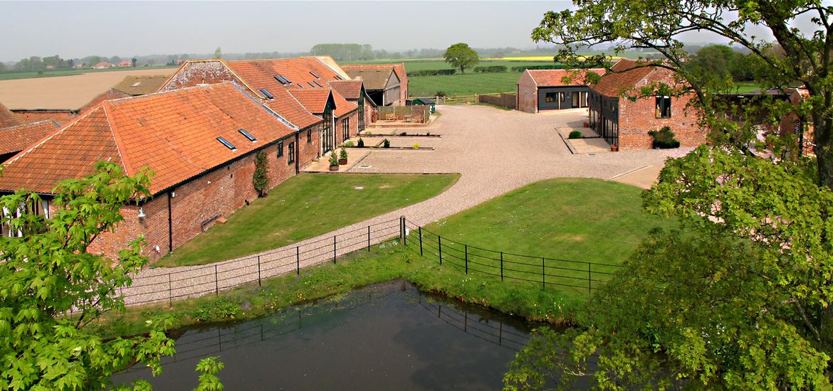 Wheatacre Hall Barns Exterior View