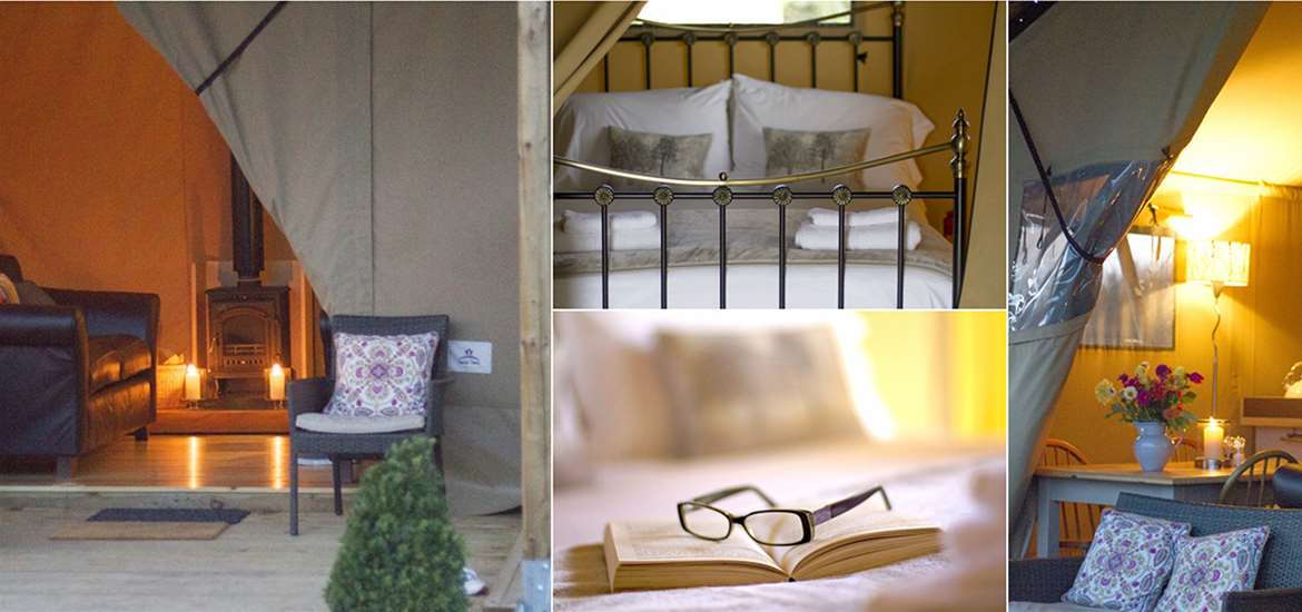 Where to Stay - Boundary Farm Glamping - Saxmundham - Collage 2