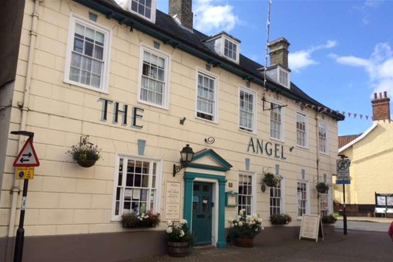 Towns & Villages - Halesworth - The Angel Hotel