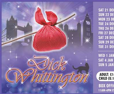 Dick Whittington at Spa Pavilion Theatre