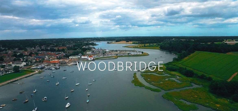 Woodbridge Aerial View