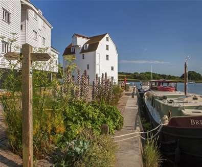 TTDA - Woodbridge Tide Mill - summer view