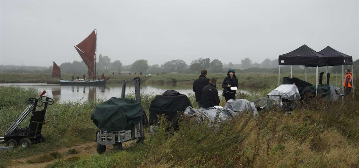 TTDA - Screen Suffolk - The Dig filming at Snape