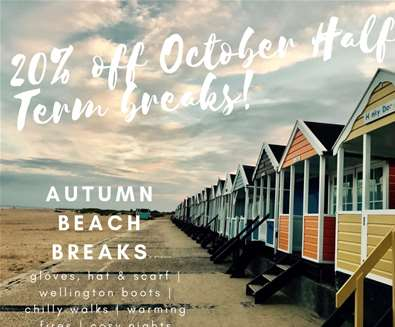 Save 20% off October Half Term breaks in Southwold with Durrants Holiday Cottages