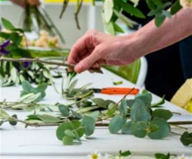 Floral Art Workshop - Autumn Wreath at Snape Maltings