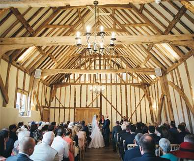 Barn-only weddings available