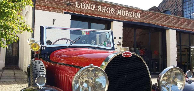 TTDA - Long Shop Museum - Vintage cars