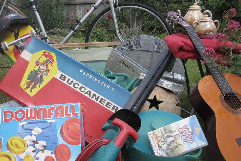 TTDA - Car boots - vintage games