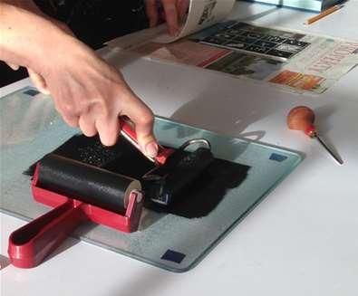 Christmas Card Printmaking Evening..