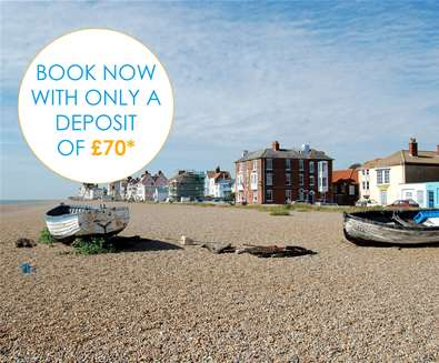 Book for 2019 with only a £70 Deposit