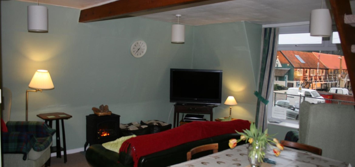 The Malthouse first floor living area