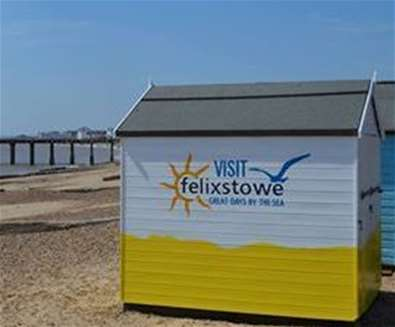 Felixstowe Beach Huts have Shedloads of Tourist Information!